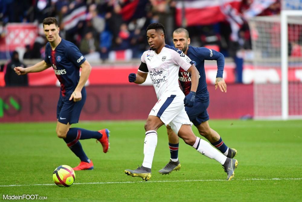 Kamano est sous contrat jusqu'en juin 2021 avec Bordeaux.