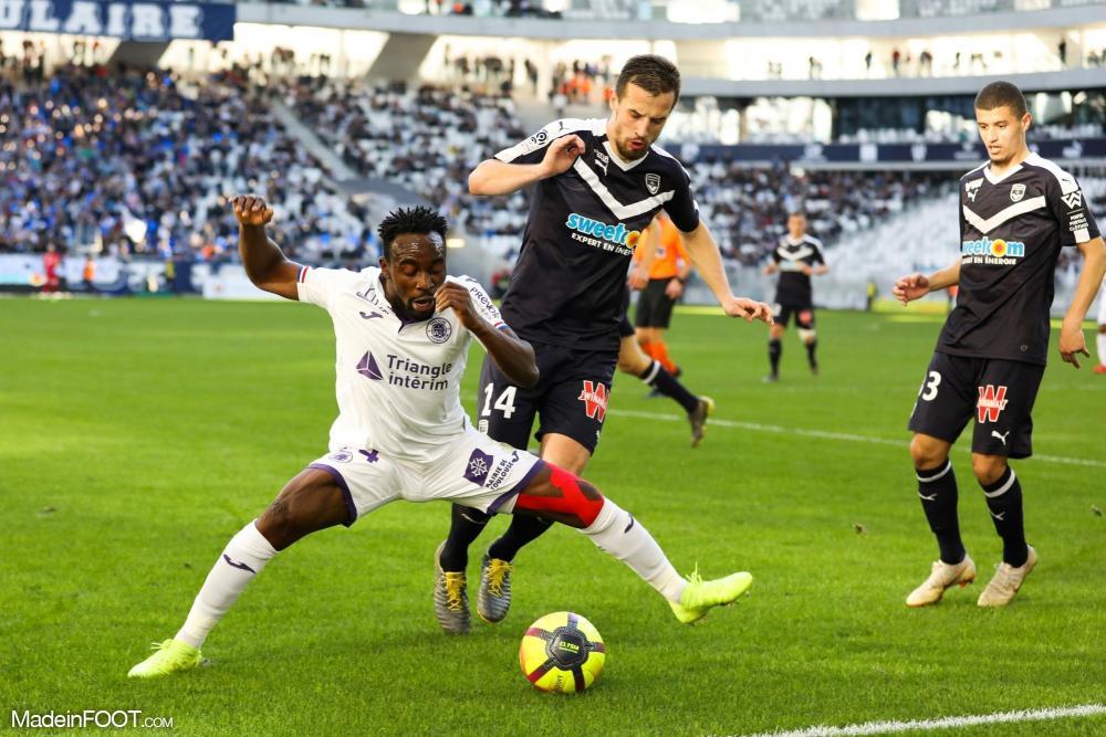 Vukasin Jovanovic, le défenseur central des Girondins de Bordeaux.