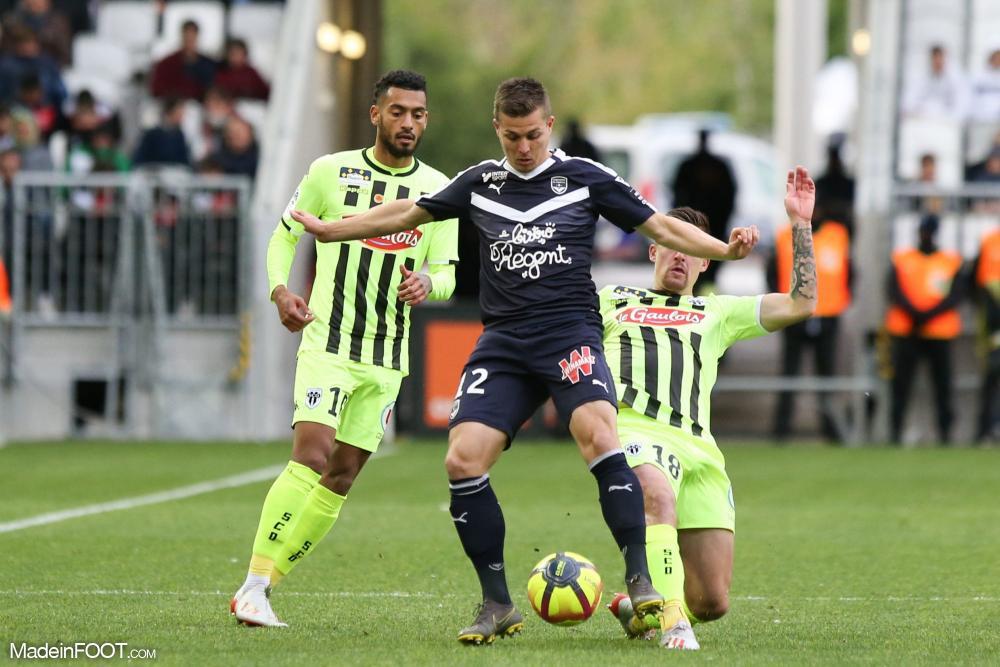 Bahoken a inscrit l'unique but de la rencontre face à Bordeaux (0-1).