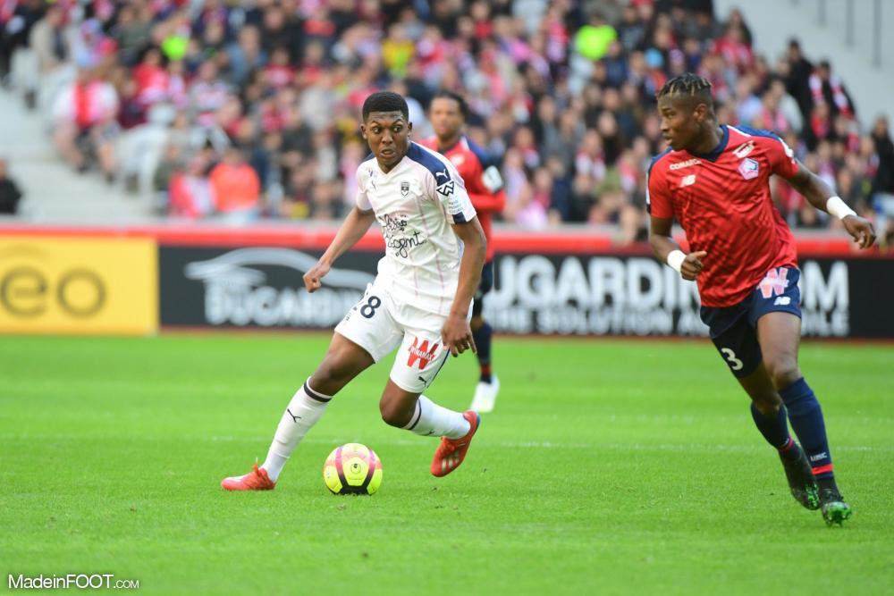 Zaydou Youssouf, ici sous les couleurs des Girondins de Bordeaux.