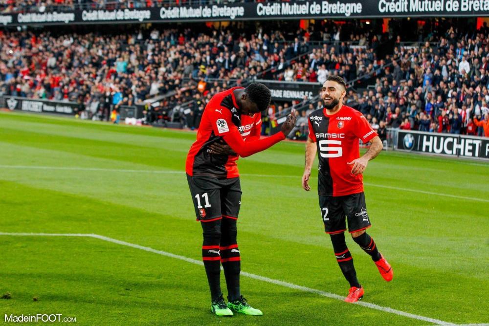 M'Baye Niang quitte le Stade Rennais FC et signe aux Girondins de Bordeaux.