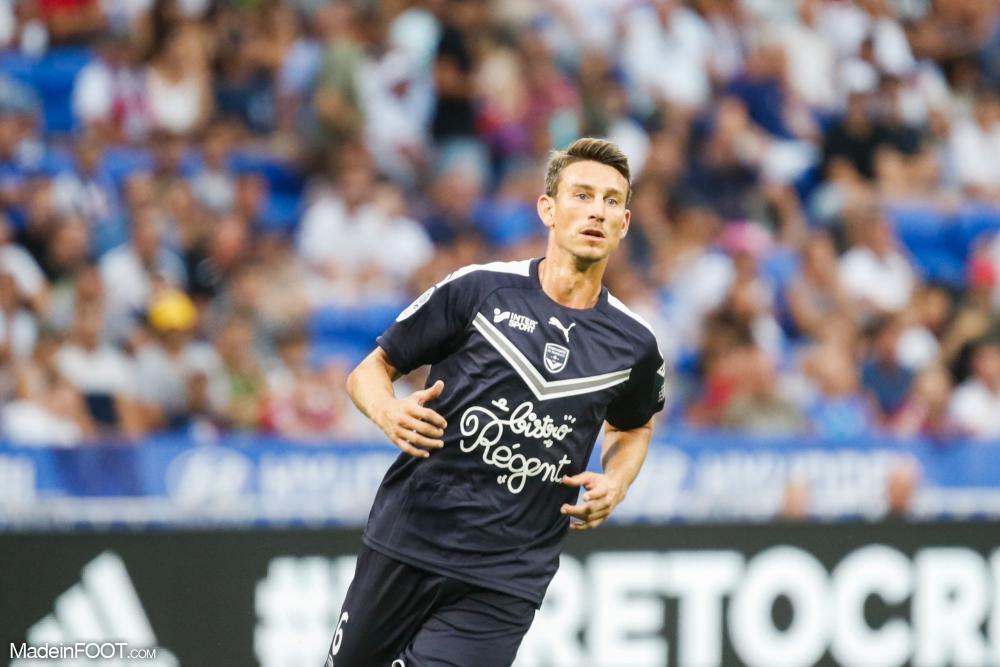 Laurent Koscielny, 35 ans, est le capitaine des Girondins de Bordeaux.
