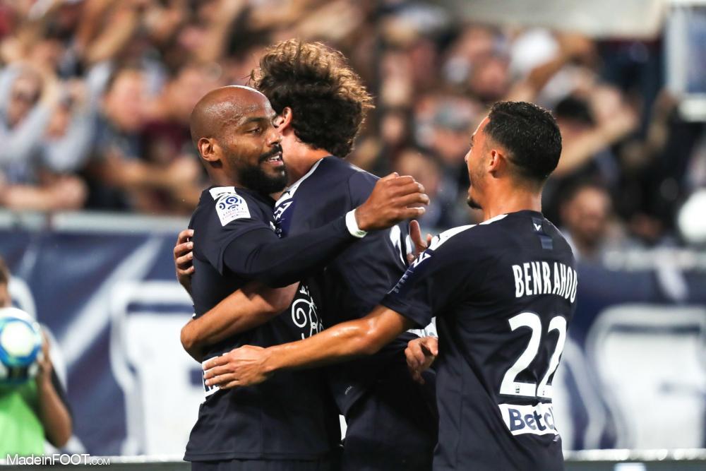 Les compos officielles du match entre les Girondins de Bordeaux et l'AS Saint-Etienne.