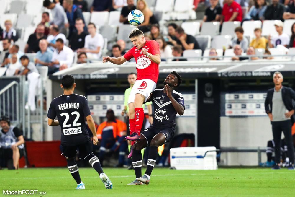 Les Girondins de Bordeaux et le Stade Brestois 29 se sont quittés sur un match nul (2-2), ce samedi soir en Ligue 1.