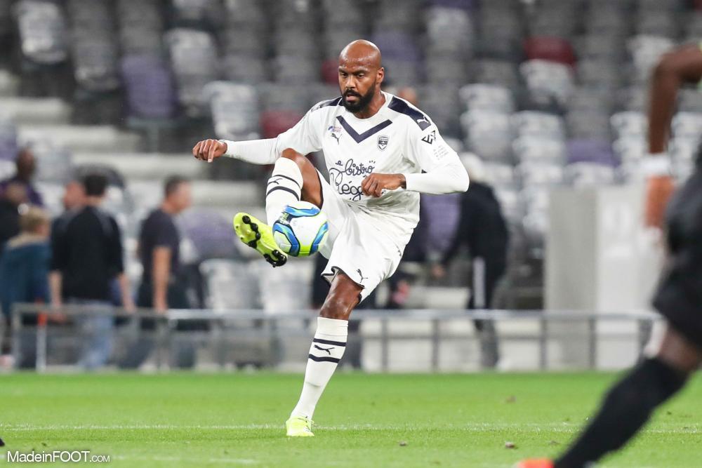 Jimmy Briand, l'attaquant des Girondins de Bordeaux.