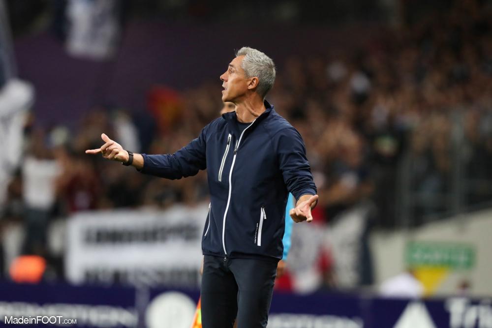 Le groupe des Girondins de Bordeaux pour défier le Toulouse Football Club.