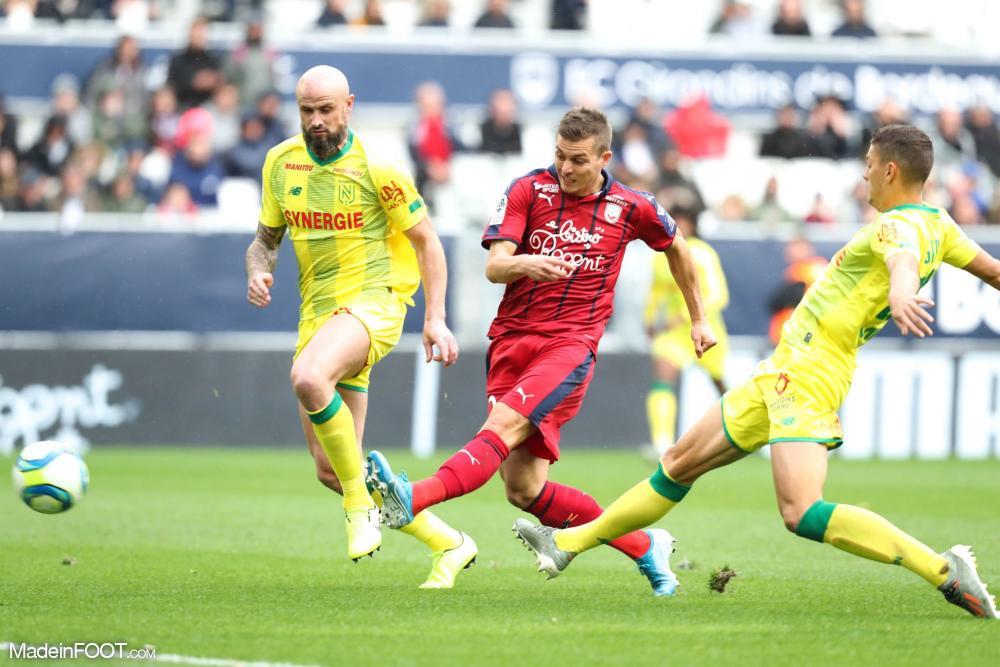 Les Girondins de Bordeaux ont dominé le FC Nantes (2-0), ce dimanche après-midi en Ligue 1.