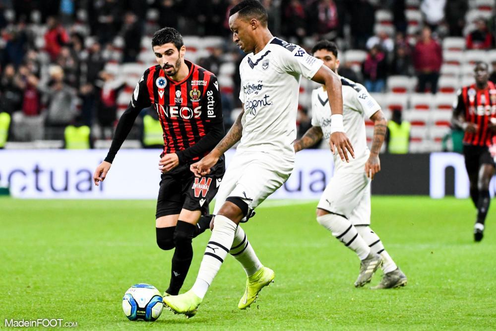 Les compos officielles du match entre les Girondins de Bordeaux et l'OGC Nice.
