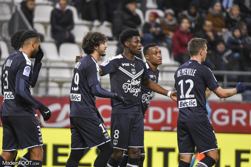 Les Girondins de Bordeaux ont dominé le Stade de Reims (0-4), ce samedi en fin d'après-midi en amical.