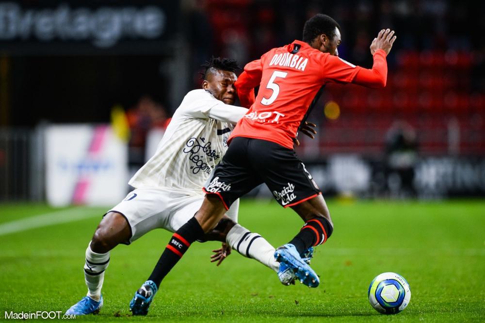 Les compos officielles du match entre le Stade Rennais FC et les Girondins de Bordeaux.