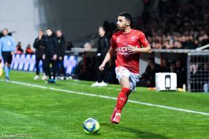 Yassine Benrahou, ici sous les couleurs du Nîmes Olympique.
