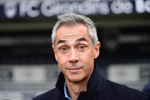 Le groupe des Girondins de Bordeaux pour le match amical face au Stade de Reims.