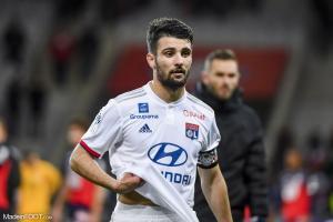Léo Dubois, latéral droit de l'Olympique Lyonnais