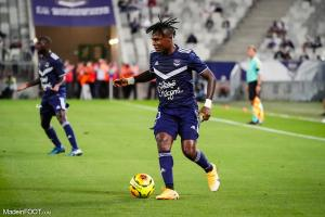 Samuel Kalu, l'ailier des Girondins de Bordeaux.