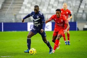 Youssouf Sabaly, le défenseur latéral du FCGB.