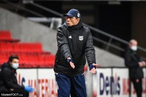 Gasset analyse la défaite de Bordeaux face à Saint-Etienne