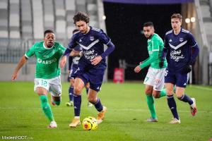 Girondins - La compo officielle du FCGB face à l'AS Saint-Etienne