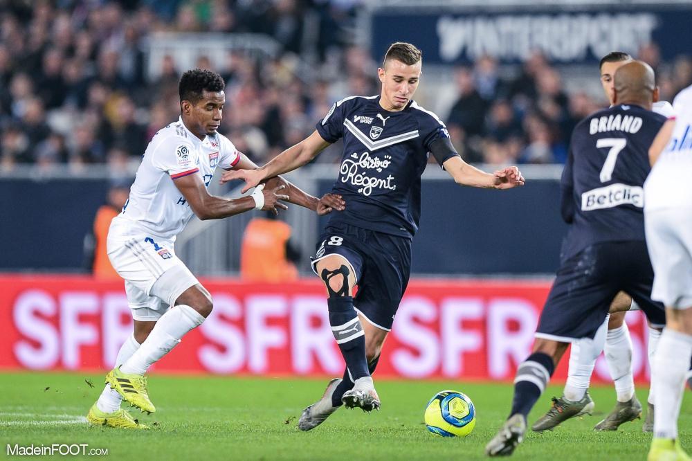 Rémi Oudin (Girondins) est incertain pour le déplacement à Paris.