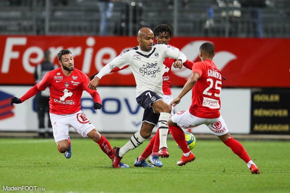 Bordeaux a perdu deux points à Brest.