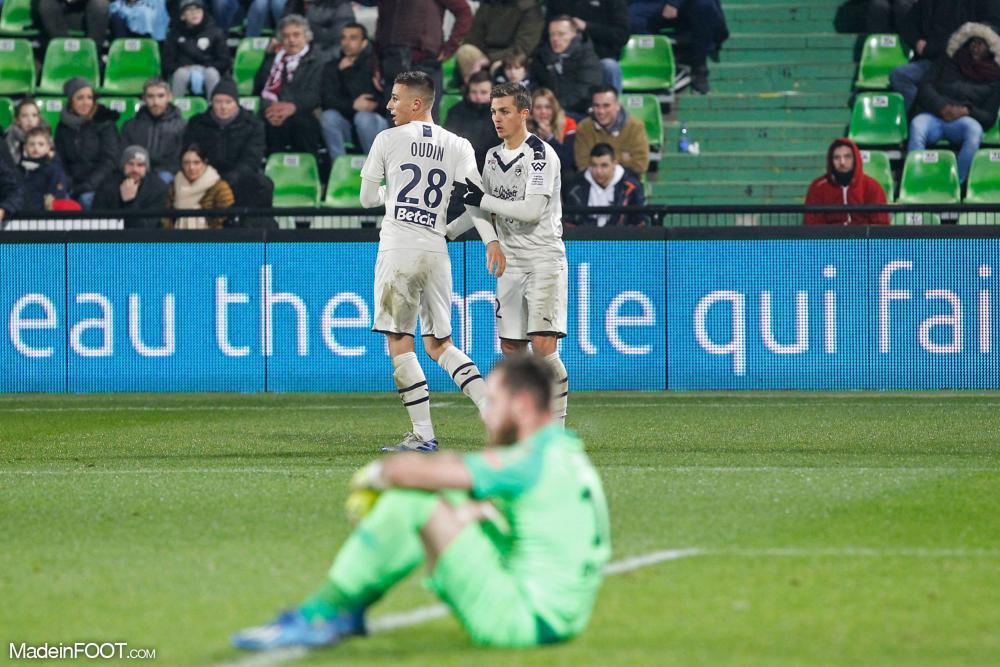 Les Girondins de Bordeaux se sont imposés sur le fil.