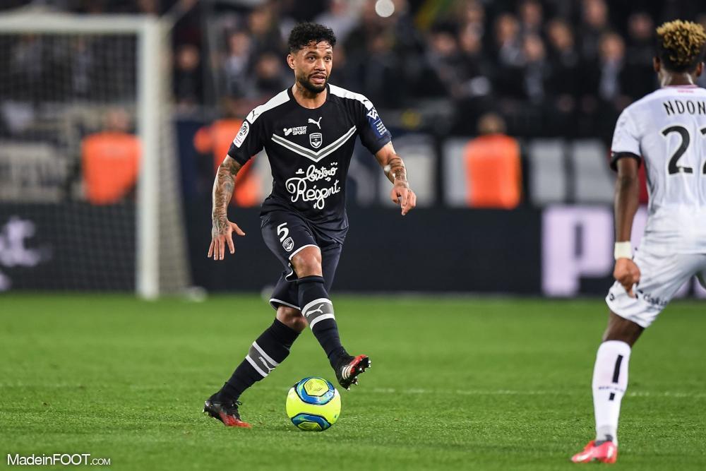 Otavio, le milieu de terrain défensif des Girondins de Bordeaux.