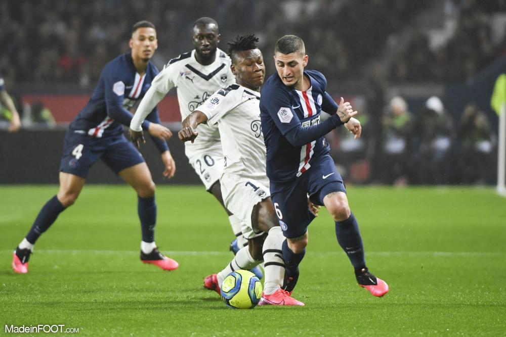 L'album photo du match entre le Paris Saint-Germain et les Girondins de Bordeaux.