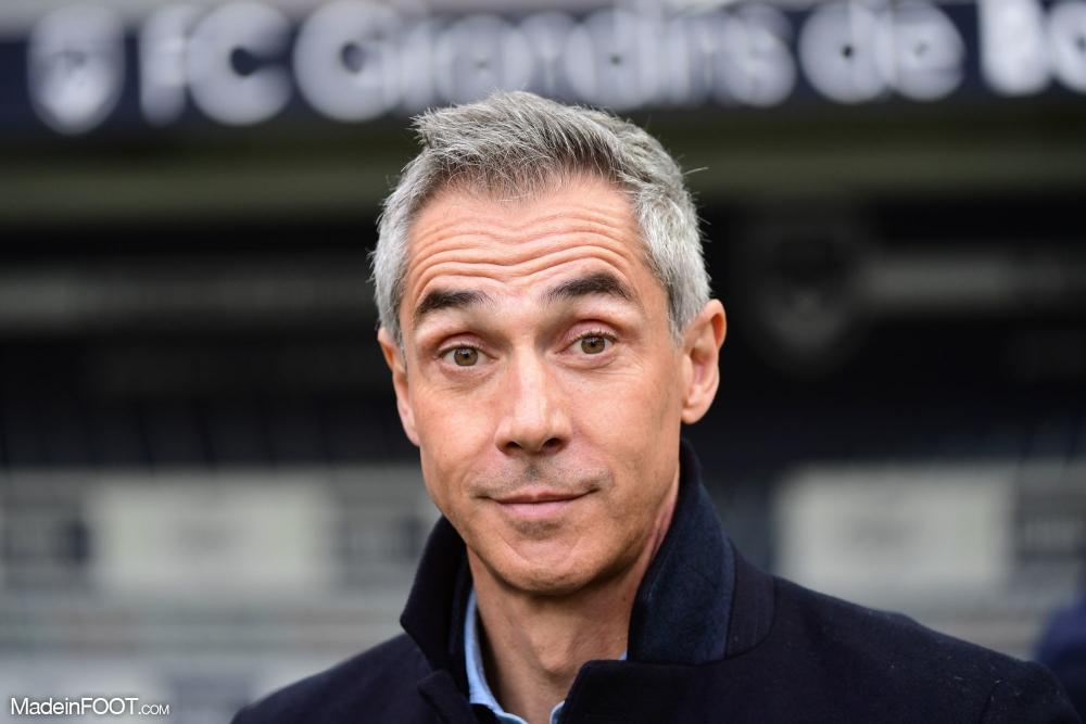 Paulo Sousa, 46 ans, est à la tête des Girondins depuis 2019.