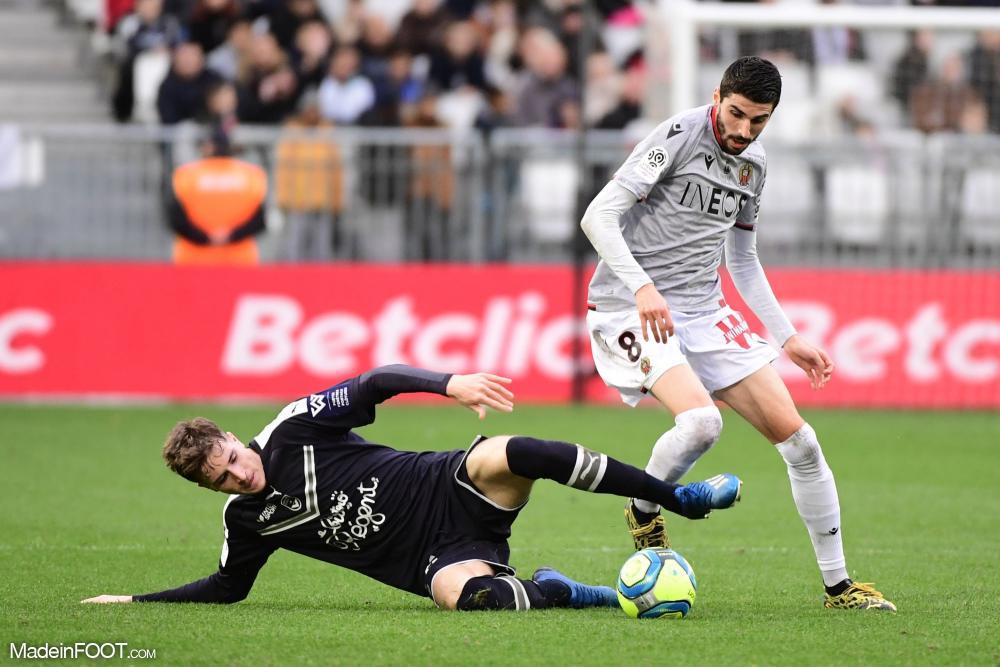 Les Girondins de Bordeaux et l'OGC Nice se sont séparés sur un score de parité (1-1), ce dimanche après-midi en Ligue 1.