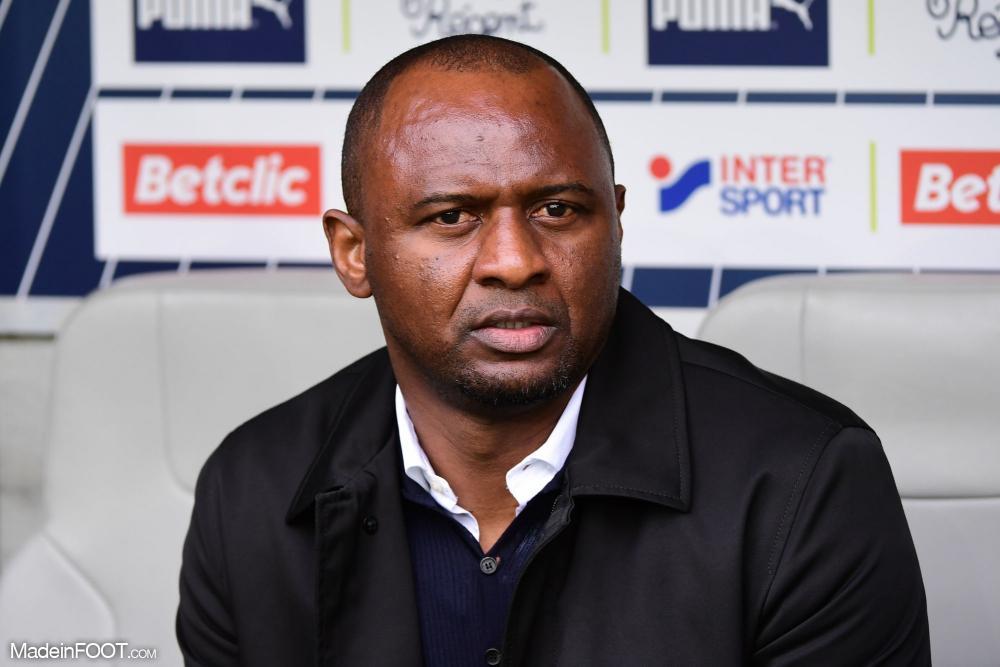 Patrick Vieira, l'entraîneur de l'OGC Nice.