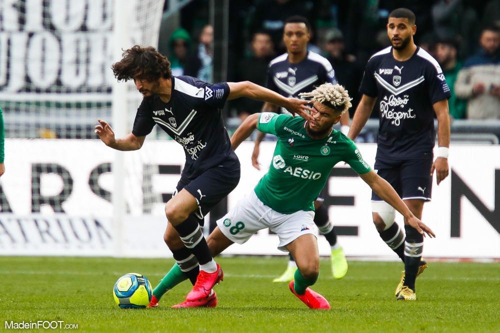 Les Girondins de Bordeaux et l'AS Saint-Etienne se sont quittés dos à dos (1-1), ce dimanche après-midi en Ligue 1.