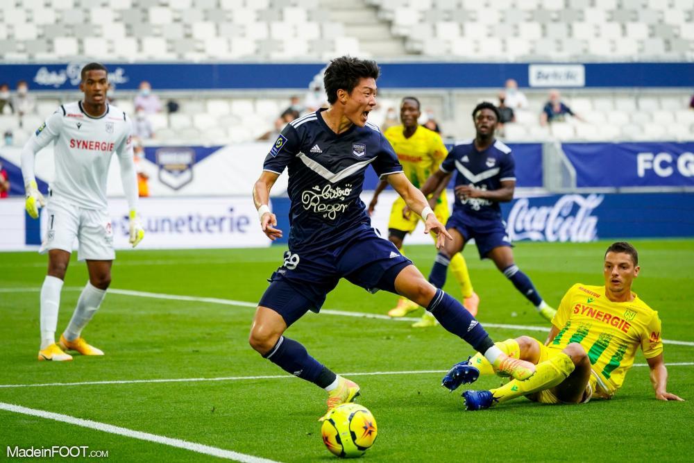 Les Girondins de Bordeaux et le FC Nantes se sont quittés sur un score nul et vierge (0-0), ce vendredi soir en Ligue 1.