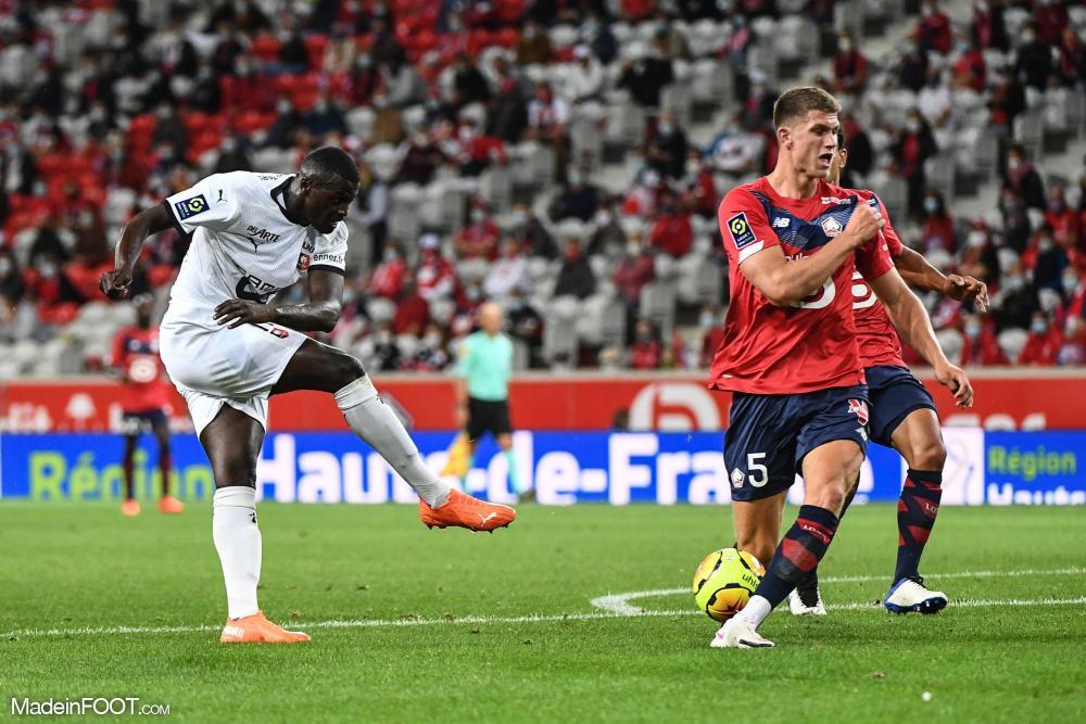 M'Baye Niang, ici sous les couleurs du Stade Rennais FC.