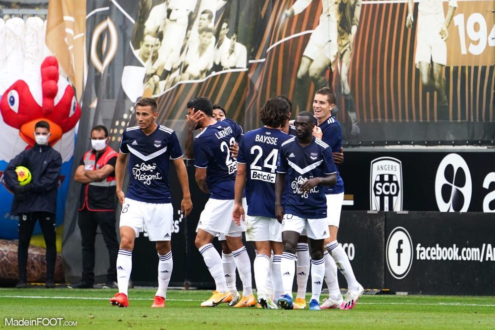 Bordeaux s'impose face à Angers