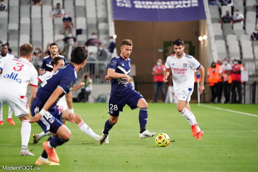 Lyon n'a pas été capable de battre Bordeaux et a concédé un nul vierge (0-0)