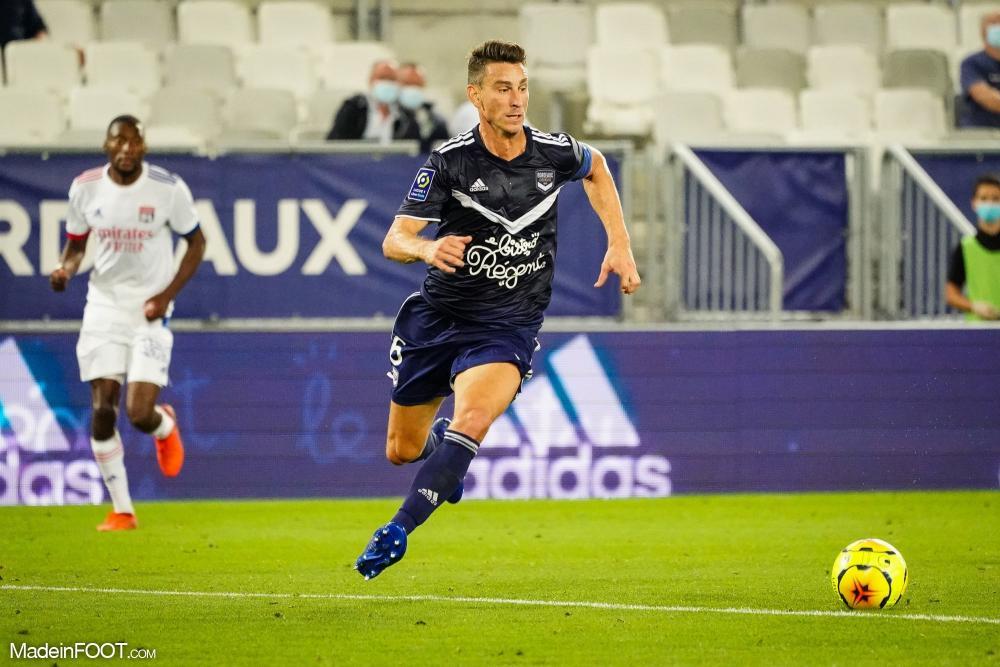 Laurent Koscielny, le défenseur central du FC Girondins de Bordeaux.
