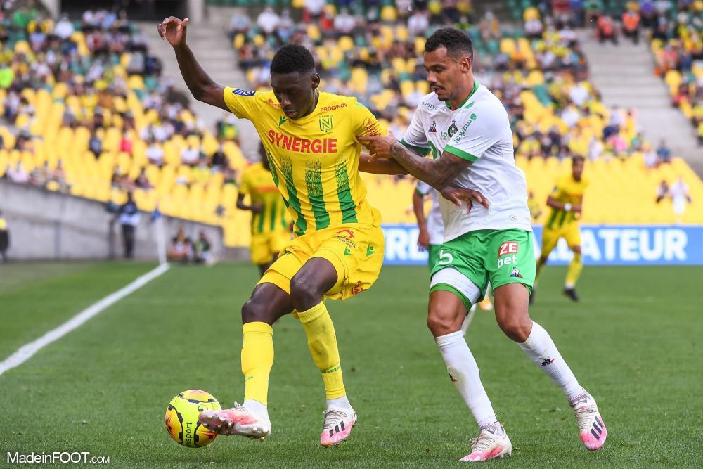 Randal Kolo Muani, attaquant du FC Nantes