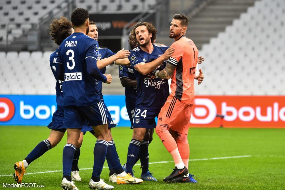 Les Girondins de Bordeaux se sont inclinés sur la pelouse de l'Olympique de Marseille (3-1), ce samedi soir en Ligue 1.