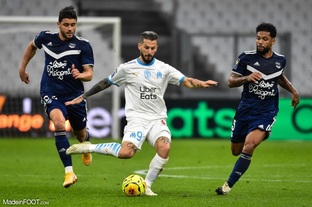 L'album photo du match entre l'Olympique de Marseille et les Girondins de Bordeaux.