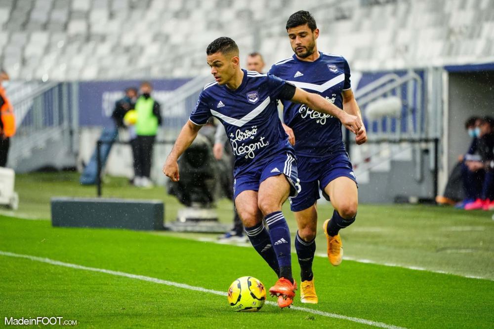 Bordeaux s'impose (2-0) face à Nîmes