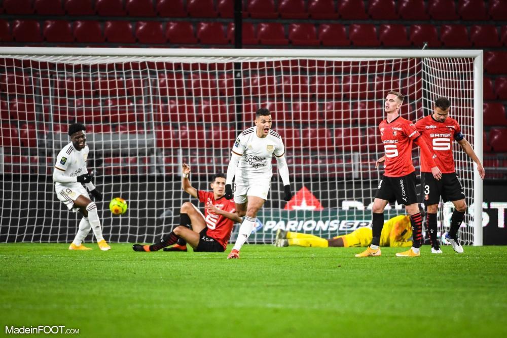 Bordeaux s'impose (0-1) face à Rennes