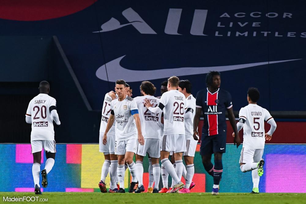Les Girondins de Bordeaux ont accroché le Paris Saint-Germain (2-2), ce samedi soir en Ligue 1.