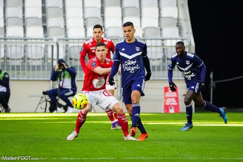Hatem Ben Arfa face au Stade Brestois