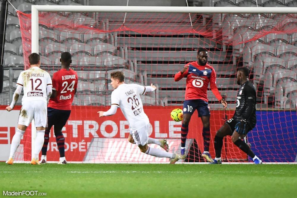 Les Girondins de Bordeaux se sont inclinés face au Lille OSC (2-1), ce dimanche après-midi en Ligue 1.