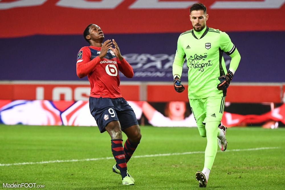 L'album photo du match entre le Lille OSC et les Girondins de Bordeaux.