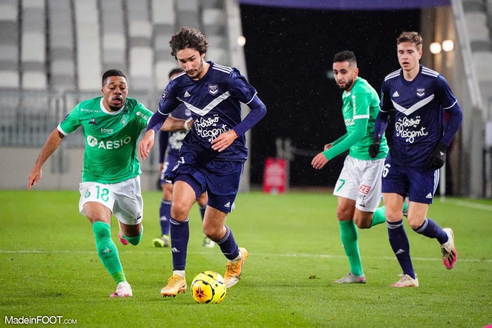 Les Girondins de Bordeaux se sont inclinés face à l'AS Saint-Etienne (1-2), ce mercredi soir en Ligue 1.
