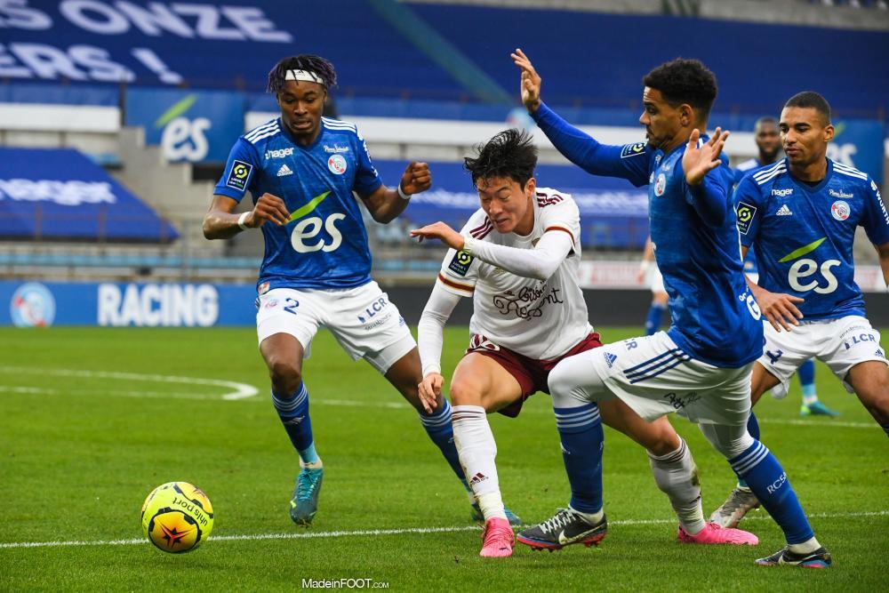 L'album photo du match entre le RC Strasbourg Alsace et les Girondins de Bordeaux.