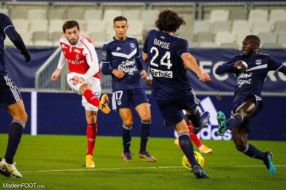 L'album photo du match entre les Girondins de Bordeaux et le Stade de Reims.