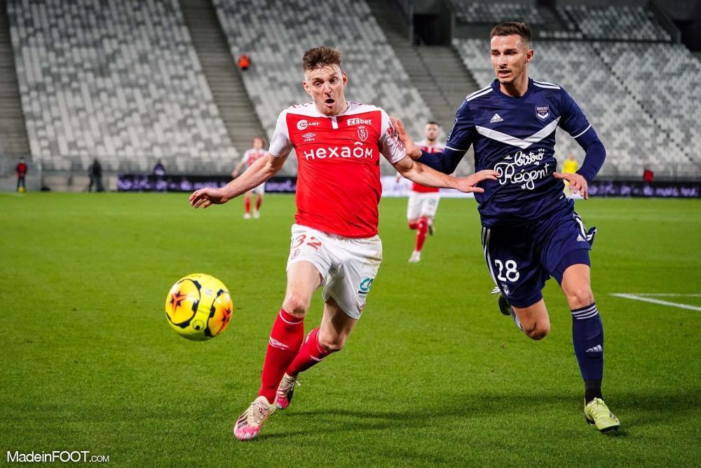 Les Girondins de Bordeaux ont chuté face au Stade de Reims (1-3), ce mercredi soir en Ligue 1.