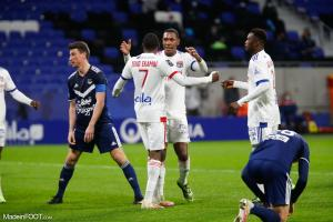 L'album photo du match entre l'Olympique Lyonnais et les Girondins de Bordeaux.