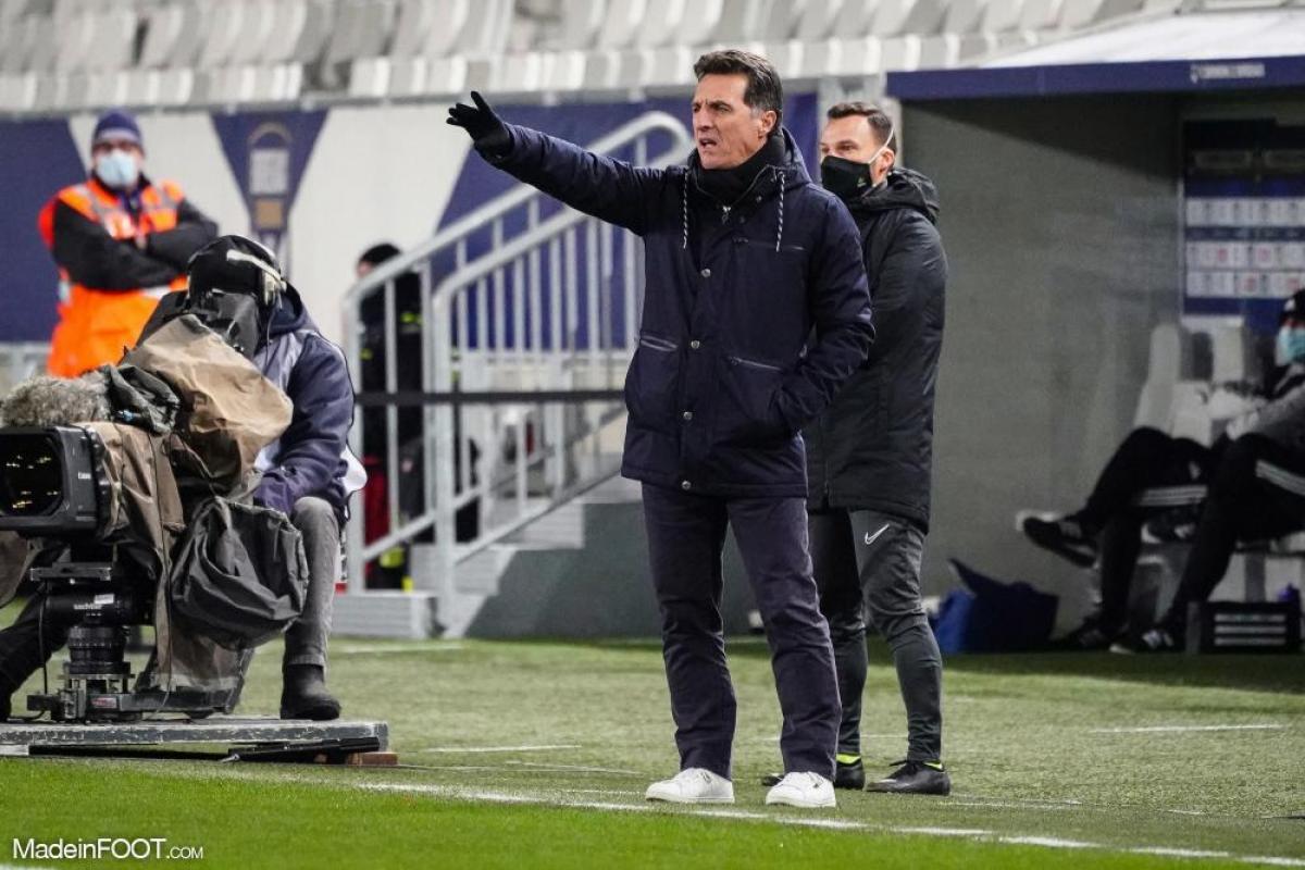 Le FC Lorient ne compte qu'un point d'avance sur le barragiste Nîmes